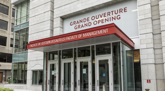 Librairie de la Faculté de gestion – Université McGill [01]