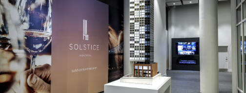 Solstice Tower Montreal: opening of the sales office